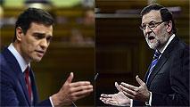 """Ir al VideoSánchez y Rajoy se enfrentan duramente por los ERE y Bárcenas y rechazan """"lecciones"""" del otro"""