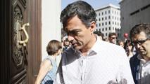 Ir al VideoSánchez regresa al Congreso para reunirse con el grupo parlamentario socialista