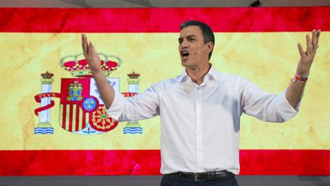 Sánchez se muestra seguro de que no habrá 'sorpasso' el próximo domingo