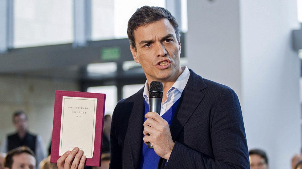 Pedro Sánchez vuelve a defender la reforma de la Constitución