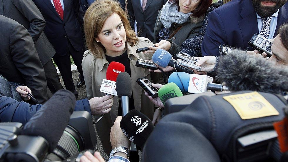 """Sáenz de Santamaría, sobre el CIS: """"Es la tendencia de un momento concreto"""""""