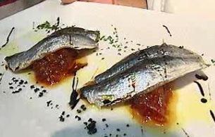 España Directo - Sardinas con mermelada de tomate