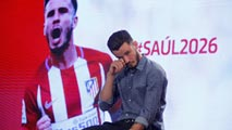 Ir al VideoSaúl, emocionado tras renovar por el Atlético nueve años más