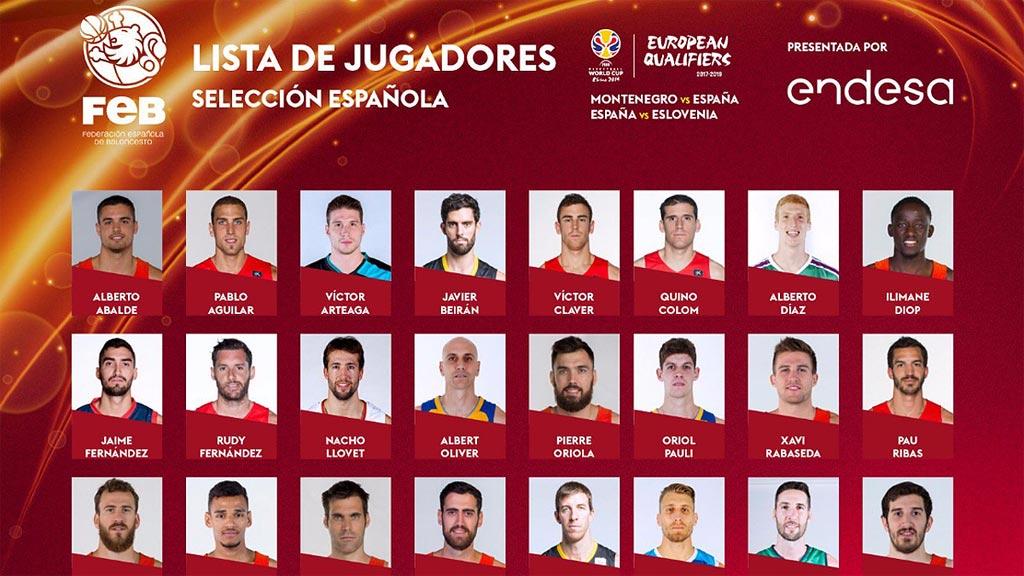 Scariolo convoca a once jugadores Euroliga para las 'ventanas' FIBA