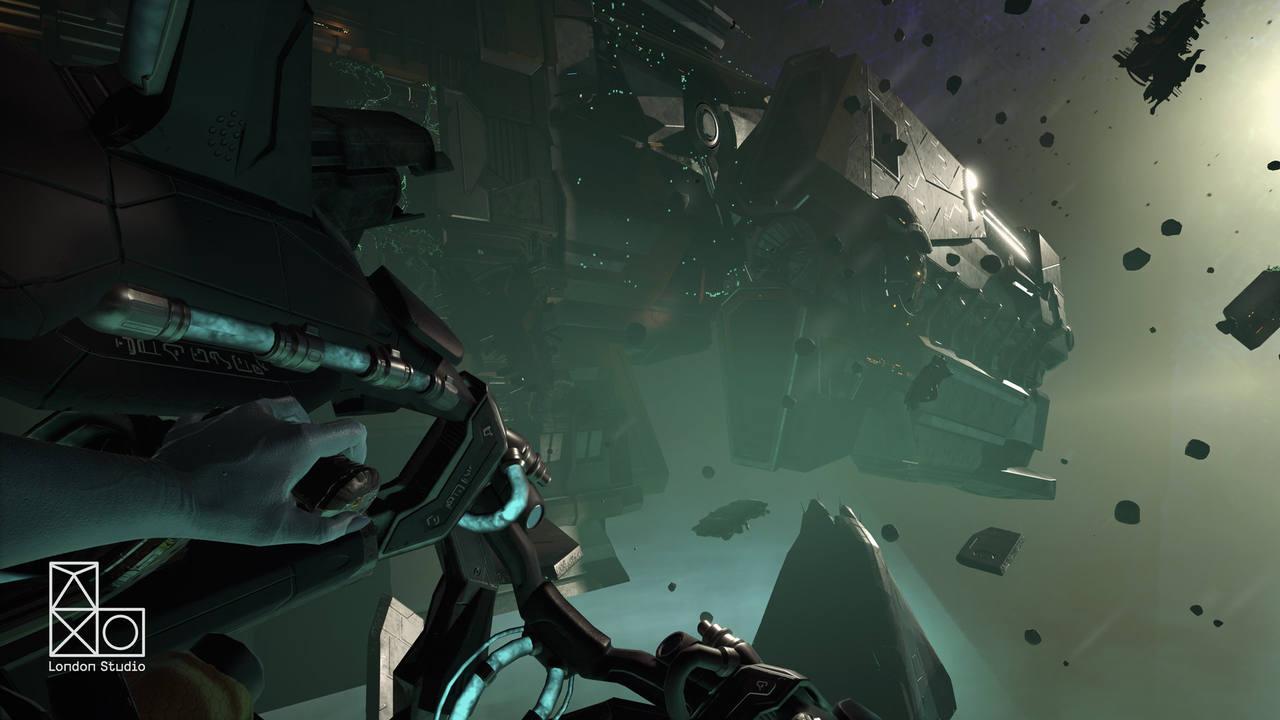 Captura de 'Scavenger's Odyssey', una de las primeras experiencias de Playstation VR