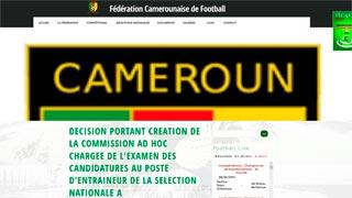 Se busca seleccionador de Camerún