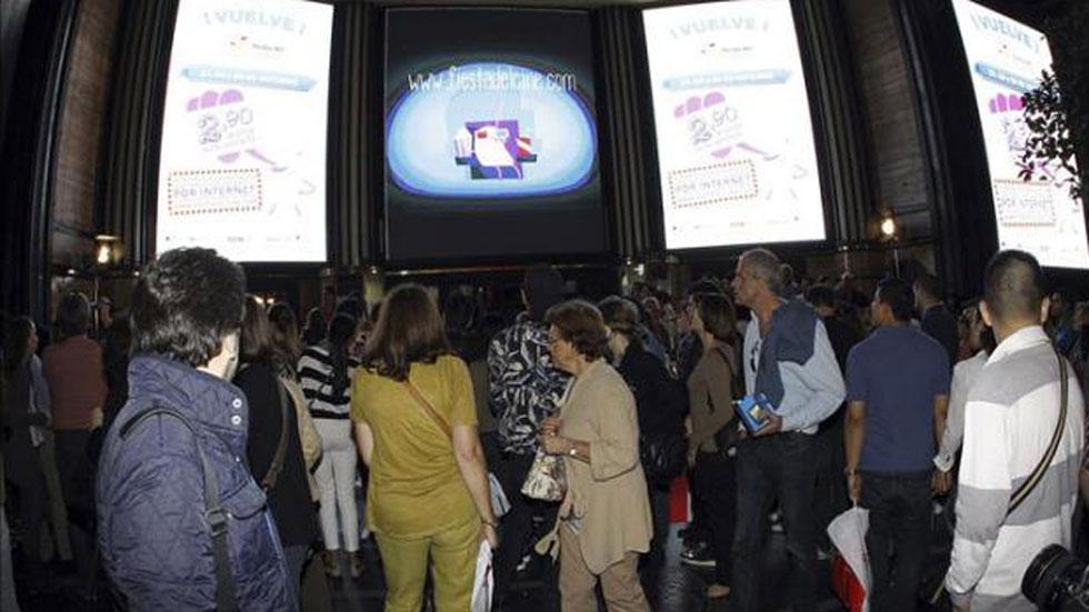 Se celebra de nuevo la fiesta del cine con entradas por menos de 3 euros