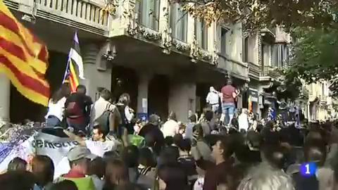Ir al VideoSe cumple un año del asedio a la Consellería de Economía que motivó el encarcelamiento de los 'Jordis'