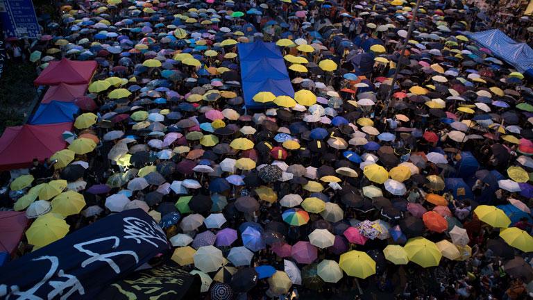 Se cumple un mes de las manifestaciones de Hong Kong
