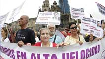 Ir al VideoSe cumplen dos años del accidente de Santiago de Compostela