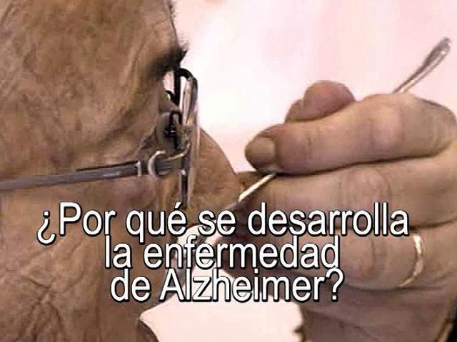 uned - ¿Por qué se desarrolla la enfermedad de Alzheimer? - 15/07/11