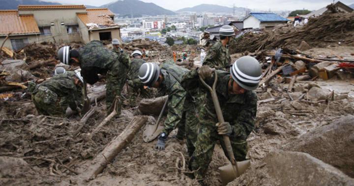 Se eleva a 90 los muertos y desaparecidos por las inundaciones en el oeste de Ja