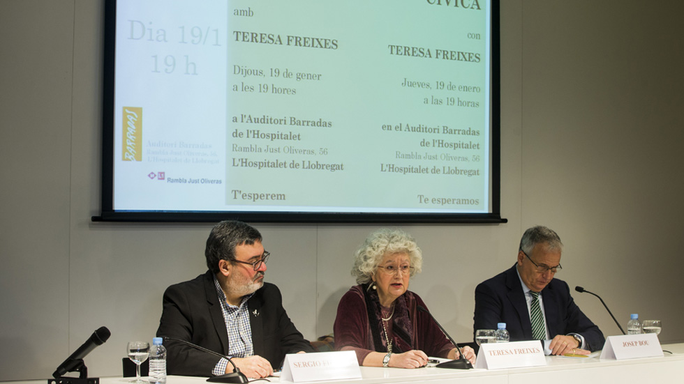 Se presenta en Barcelona la plataforma antisoberanista Concordia Cívica