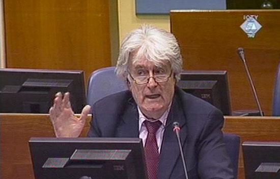 Se reanuda en el Tribunal de la Haya el juicio contra Radovan Karadzic