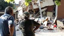 Ir al VideoSe suceden las réplicas en la región de Emilia Romagna, Italia