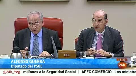 Parlamento-Foco Parlamentario-Se va Alfonso guerra