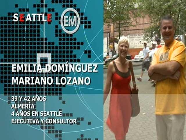 Españoles en el mundo - Seattle - Emilia y Mariano