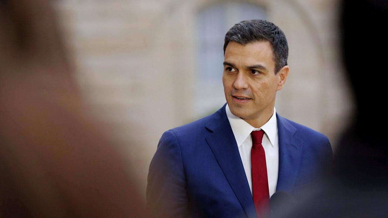 El secretario general del PSOE y candidato a la Moncloa, Pedro Sánchez Pérez-Castejón.