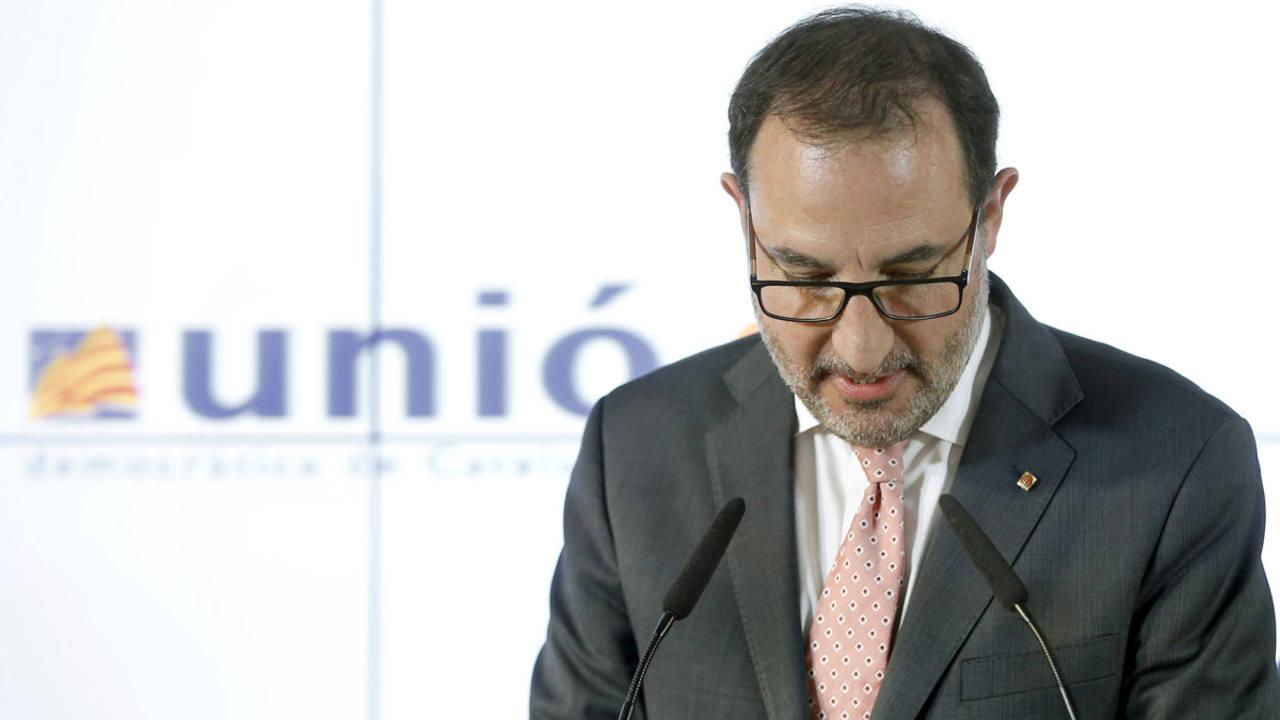 El secretario general de UDC, Ramón Espadaler.