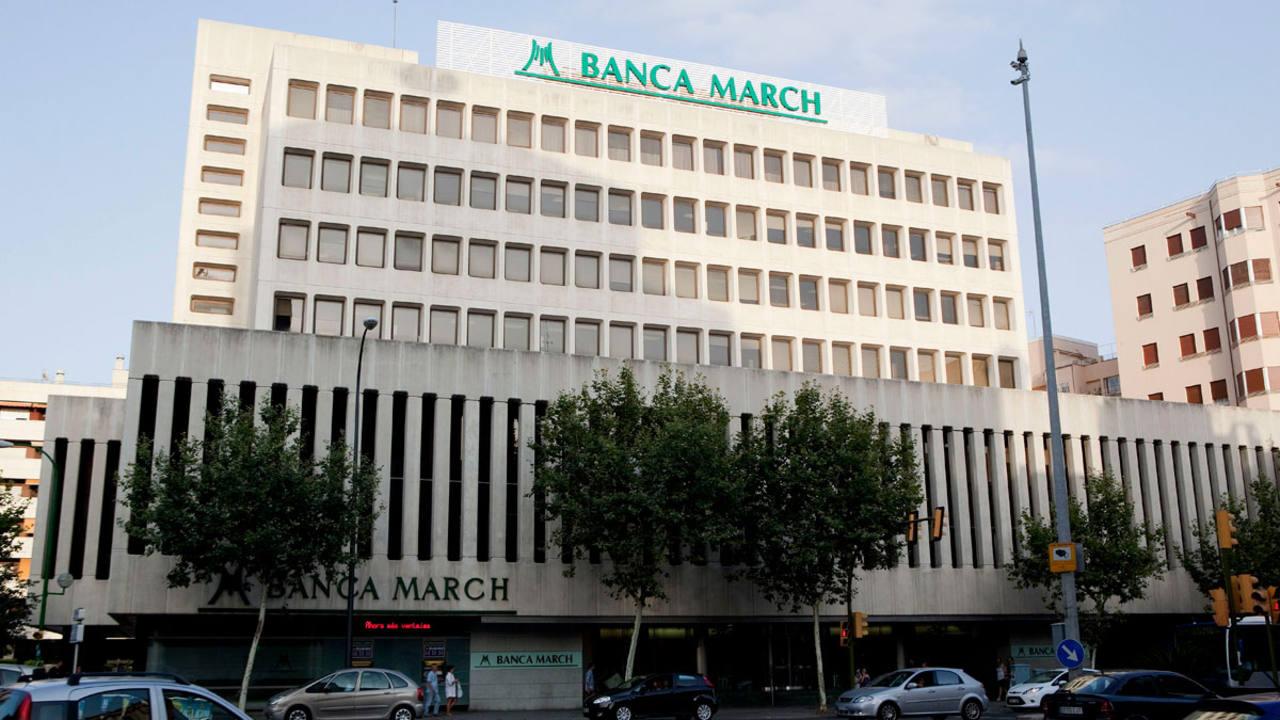 Banca march se hace con el 100 del banco inversis for Oficinas banca march palma