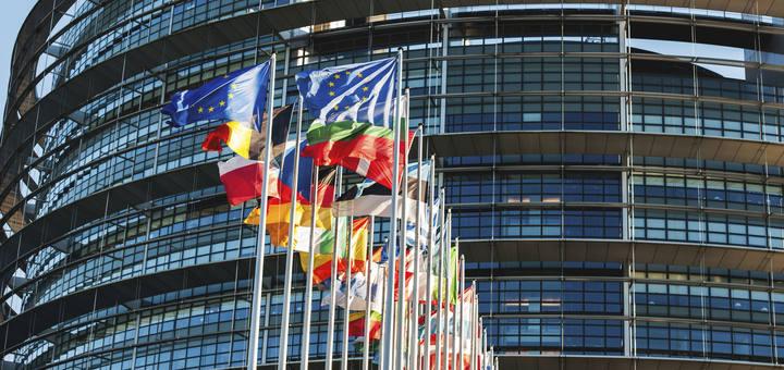 La sede del Parlamento Europeo en Bruselas