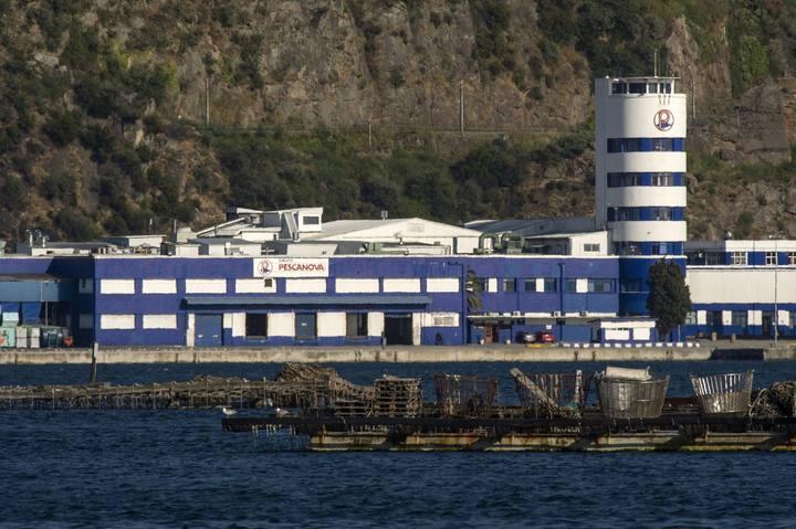 La sede de Pescanova en Chapela, Redondela (Pontevedra)