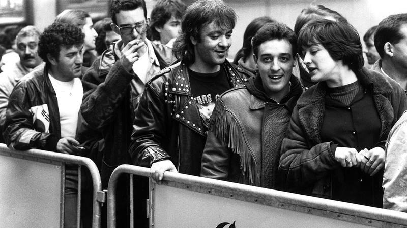 Los Rolling Stones actuaron en Gijón en 1995
