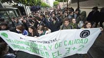 Ir al VideoSegunda huelga educativa del año contra el decreto 3+2