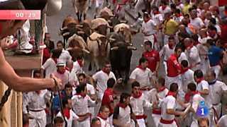 Segundo encierro de San Fermín 2012