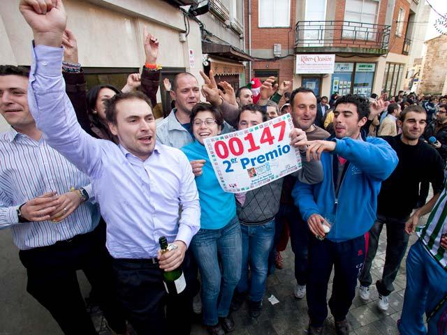 El segundo premio de la Lotería de Navidad deja casi sesenta millones en Roa de Duero