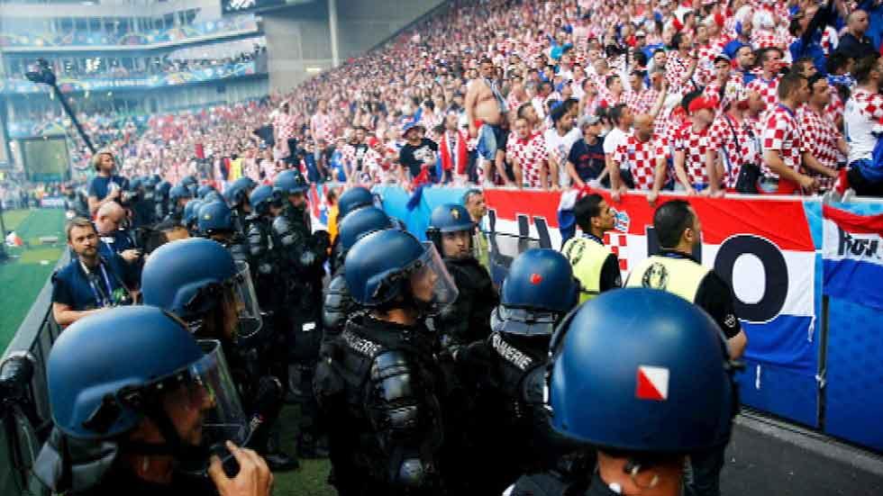 Seguridad máxima para el encuentro entre Croacia y España