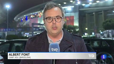Ir al VideoSeis aficionados del Lyon detenidos y uno del Barcelona