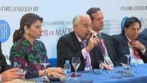 Ir al VideoSeis ex-presidentes latinoamericanos se han reunido en Madrid para pedir la libertad de Leopoldo López