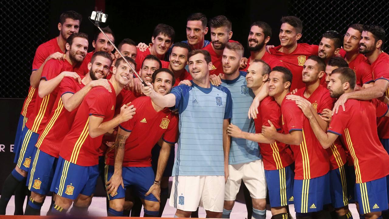 La selección española comienza el año como tercera del ránking FIFA
