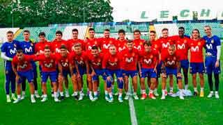 La selección sub-21 inicia el Europeo contra Macedonia