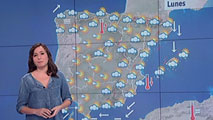 La semana arranca con tormentas en el área mediterránea