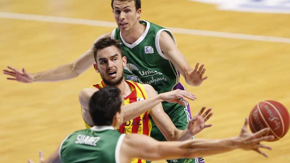 Baloncesto - Liga ACB. Play Off. Semifinales. 4º partido: Unicaja-FC Barcelona (1)