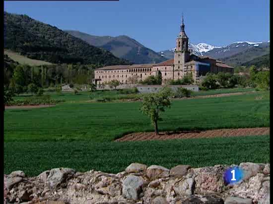 Periodistas españoles y americanos se reúnen durante tres días en el Monasterio de Yuso, en La Rioja