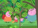 Imagen del  vídeo de Peppa Pig titulado EL SENDERO FORESTAL