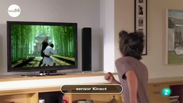 tres14 - Curiosidades científicas - Sensor kinect