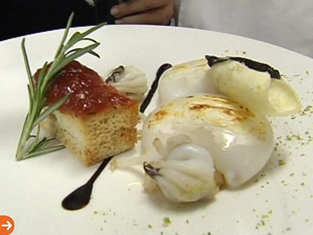 España Directo - Sepia con queso manchego