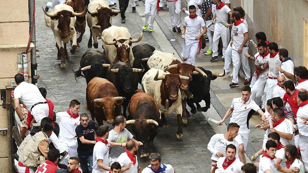 Vive San Fermín - Séptimo encierro