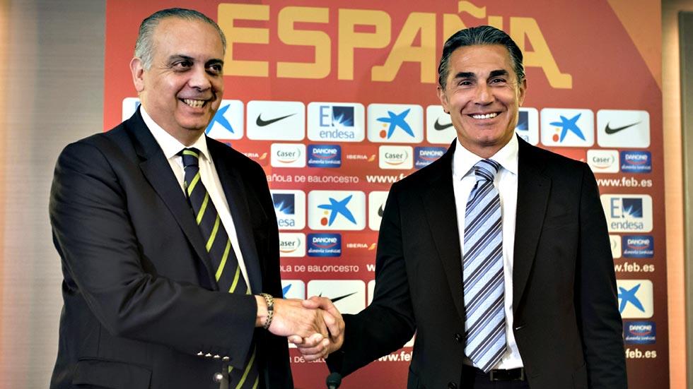 Sergio Scariolo vuelve al banquillo de la selección española de baloncesto