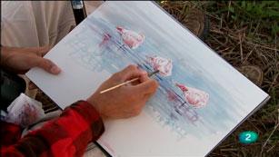 La Aventura del Saber. TVE. Serie 'Artistas de naturaleza'.  Francisco J. Hernández