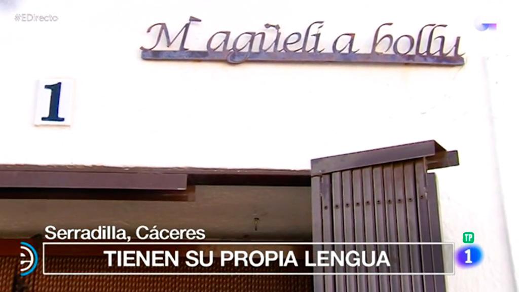 España Directo - Serradilla, un pueblo con su propia lengua