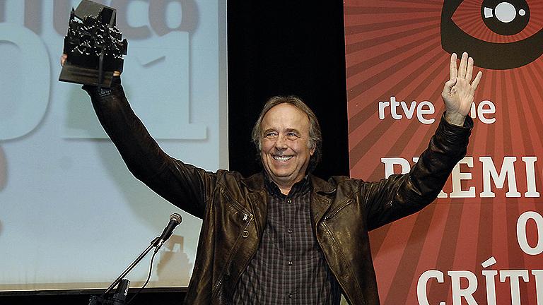 Joan Manuel Serrat, Premio Ojo Crítico 2011