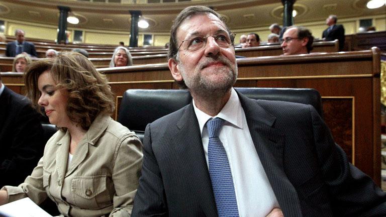 """Rajoy afirma: """"Este Gobierno tiene que decidir entre un mal y un mal peor"""""""