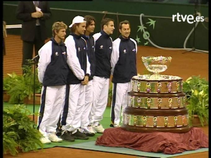 Copa Davis 2004: Sevilla, la cumbre del tenis