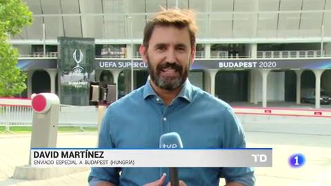 Ir al VideoEl Sevilla ya prepara la Supercopa en Budapest