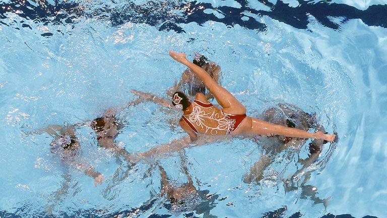 Sexta medalla de la sincronizada española en los Mundiales de Natación